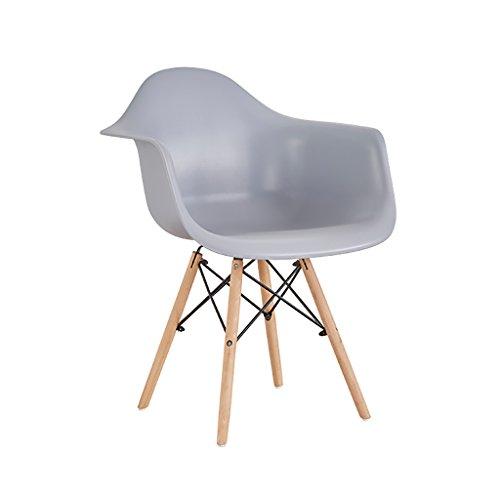 KEKOR Sillas Comedor Silla - Nordic Minimalista Moderna Silla de plástico PP, Sala de Estar, Dormitorio, Estudio, Comedor, Silla Resistente y Robusta (Color : E)