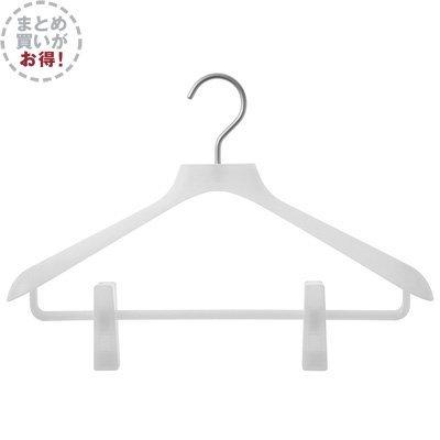 無印良品 【まとめ買い】ポリプロピレンハンガー・婦人用・ピンチ付 10本セット 日本製