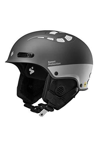 Sweet Protection Igniter II MIPS Casque de Ski/Snowboard, Gris Ardoise métallisé, SM
