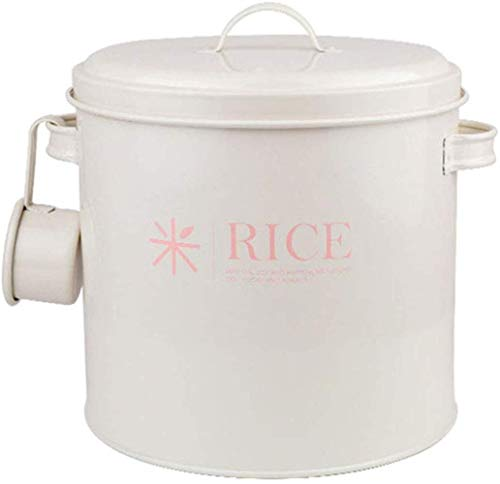 GYJ Rice Box huishouden, rijstemmer, 5 kg, verzegeld vochtbestendig, insectendicht, zonwering, meel, hondenvoer, barrel, kattenvoering, barrel, vochtbestendig