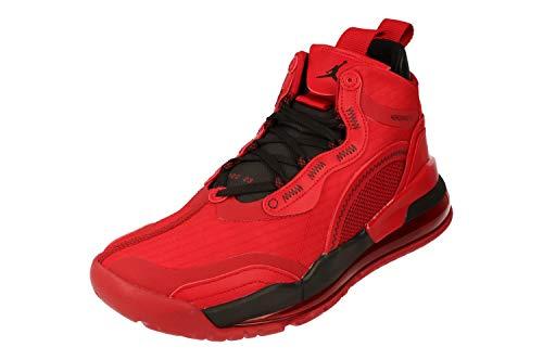 Nike Air Jordan Aerospace 720 Hombre Basketball Trainers BV5502 Sneakers Zapatos (UK 8.5 US 9.5 EU 43, Gym Red Black 600)