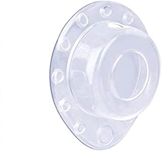 ONINAA Bathtub Overflow Drain Cover Plug, Drain Stopper for Deep Water Baths, 12 Strong Suction Cups Keep Water in, Machin...