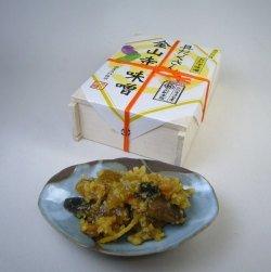 具だくさん金山寺味噌 丸新本家 具がたっぷり 国産原料使用 昔ながらの味 無添加 (木箱 350g, 1個)
