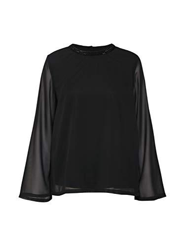 ONLY Damen onlCADIZ 7/8 Sleeve TOP WVN Bluse, Schwarz (Black), 36