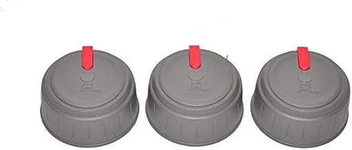 Weber 67029 Set of 3 Main Burner Control knobs Spirit II 310 Series Grills, Model Years 2017 and Newer.