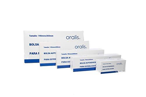 Bolsas autoadhesivas para esterilización (90 * 260mm) 200 uds.