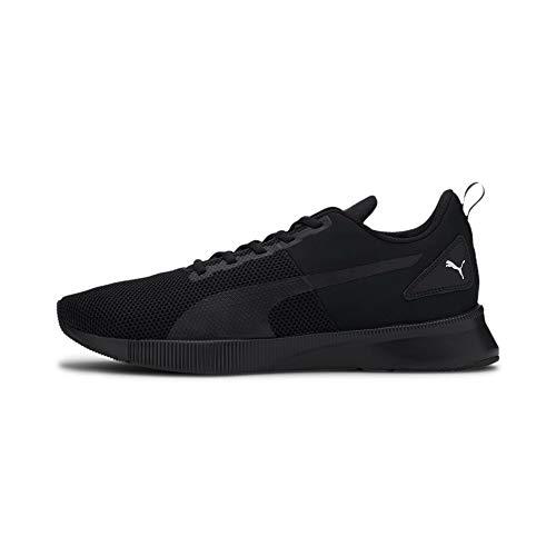 PUMA Flyer Runner, Zapatillas de Running Unisex Adulto, Negro Black/High Risk Red, 41 EU