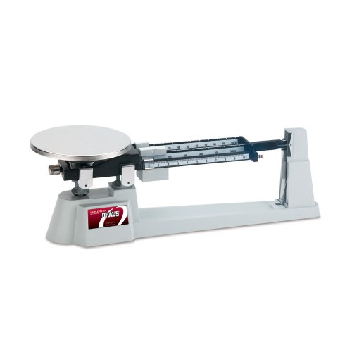Ohaus - 80000012 Specialty Mechanical Triple Beam Balance, with Stainless Steel Plate, 610g Capacity, 0.1g Readability