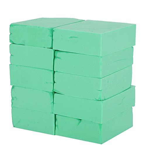10 Pcs Éponge De Bain, Éponge De Douche Corps Exfoliant Boule De Douche Pour Bébés Enfants De Bain Nettoyant Exfoliant Maquillage Animaux Art(vert)