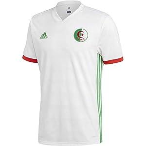 (アディダス)adidas サッカー アルジェリア代表 ホームレプリカユニフォーム半袖 DSI37 [メンズ] DSI37 BQ4519 ホワイト/セミフラッシュライム F15/レッド M