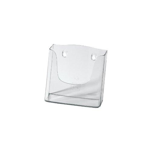 SIGEL LH116 Porta-depliant da parete, in acrilico, con 1 tasca per A5, 1 pz.