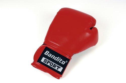 Bandito Boxhandschuh (XL/XXL (14 Unzen), rot / schwarz)