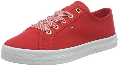 Tommy Hilfiger Essential Nautical Sneaker, Nautica Esencial Mujer, Fuegos Artificiales, 38 EU