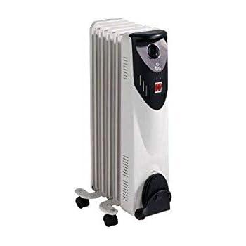 FM Calefacción BR-10 (Radiador de Aceite 5 Elementos 1000W ...
