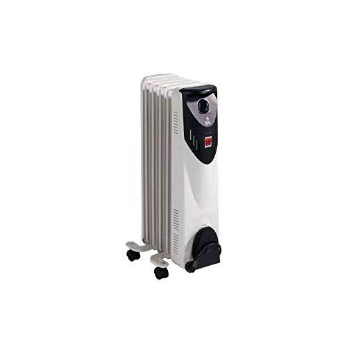 FM Calefacción BR-10 Radiador Aceite 5 Elementos