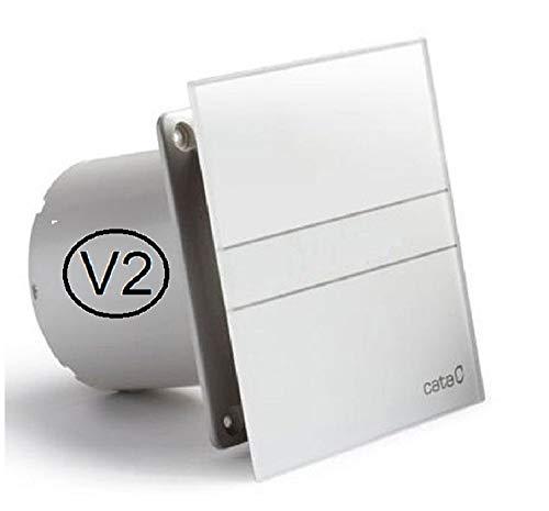 CATA E-120 G B (V2) Standard Ventilator Lüfter 120 mm Glasfront 210 m/h Kugellager (Ø120 Standard ohne Rückschlagventil)
