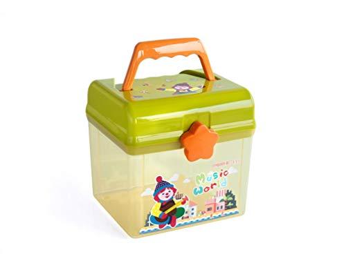 Caja De Almacenamiento De Juguetes De Dibujos Animados Para Niños Caja De Almacenamiento Cuadrada15.6 * 16 * 15.8Cm