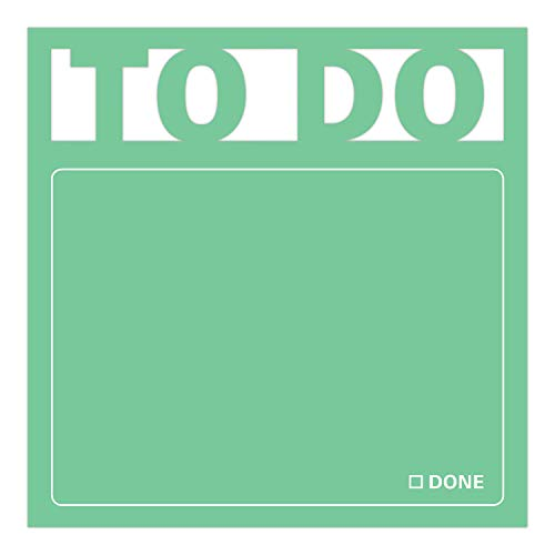 Knock Knock To Do Die Cut Sticky Notes, 3 x 3-Inches (1-Count) Photo #2