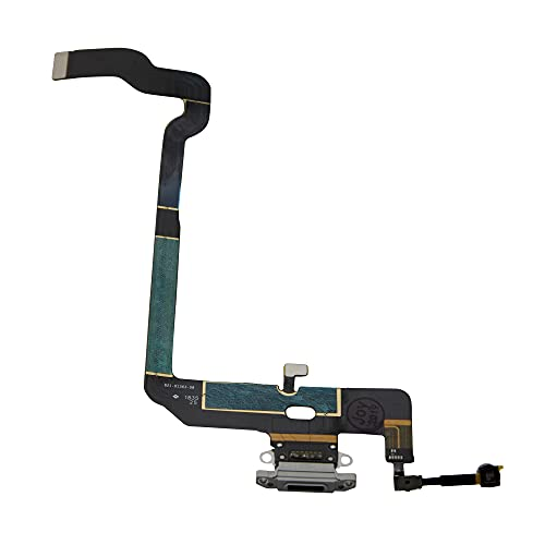 Best Shopper - Replacement Charging Port Flex Cable Compatible with Apple iPhone Xs - Silver