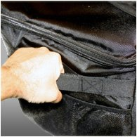 PrinterBag - Padded Printer Carrying Case. Fits Most Photo Printer Models Such as DNP DS620A, DS40, DS-RX1HS, DS820A, Hiti P525L, Mitsubishi CP-K60DW-S, CP-D90DW, CP-9550DW, CP-D70DW, Sinfonia CS2.