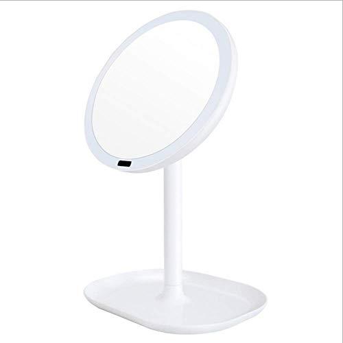 DFGBXCAW Miroir de Princesse de vestiaire Infrarouge de Corps d'induction LED de Corps de Cycle de Miroir cosmétique de Charge