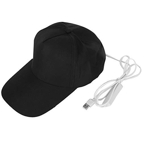 【Geschenk Voor April】Haargroei behandeling hoed, energie instelbare gemiddelde grootte timing functie haargroeimuts, hoofdhuid verzorging voor haargroei hoofdhuidverzorging