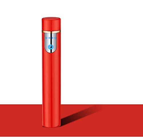 Mechero Eléctrico Mini, Encendedor de Cigarrillos Portátil, Recargable con USB, a Prueba...