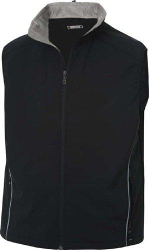 CliQue Gilet sans manches léger et imperméable à 3 couches pour homme - Noir - Small