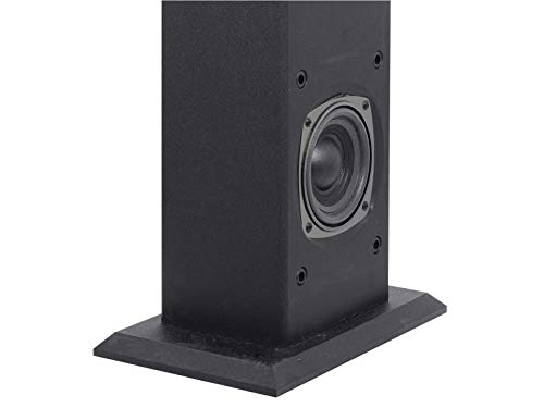 Trevi XT 101 BT Soundtower Altoparlante Speaker Amplificato a Torre con Bluetooth, Mp3, USB, SD, AUX-IN, Nero