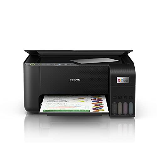 Multifuncional Epson EcoTank L3250 - Tanque de Tinta Colorida, Wi-Fi Direct, USB, Bivolt