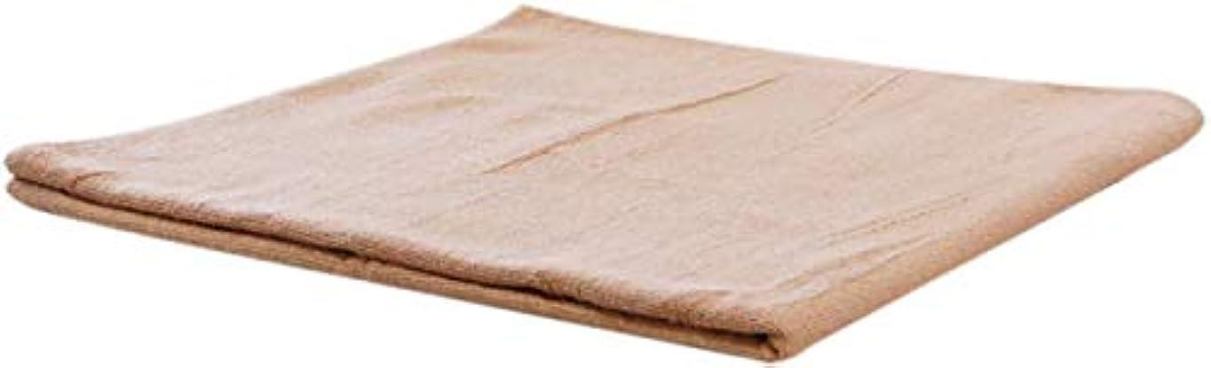 パラナ川万歳注目すべきまとめ売り コットン バスタオル (ベージュ 5枚) 業務用タオル