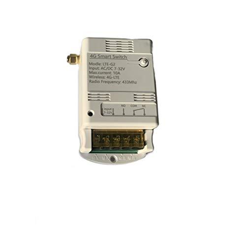 MHCOZY Abrepuerta GSM 4G LTE eWelink aplicación Interruptor de acceso remoto para garaje Swing Puerta corredera Abridor remoto Interruptor de encendido/apagado remoto
