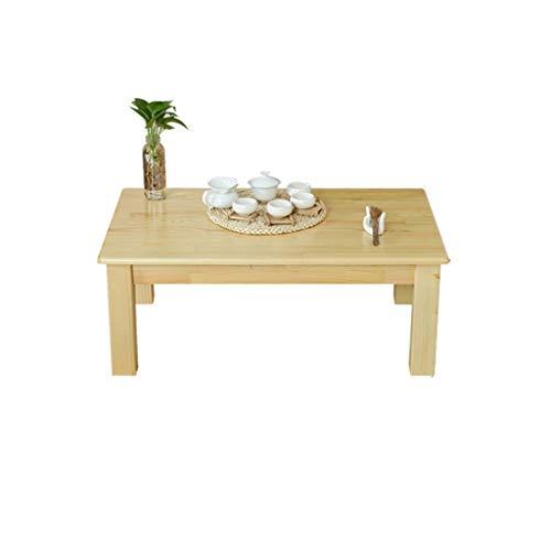 Deakj Laptop Bureau, massief hout eenvoudig gebruikt voor vensterbank balkon kleine salontafel hout kleur bed tafel