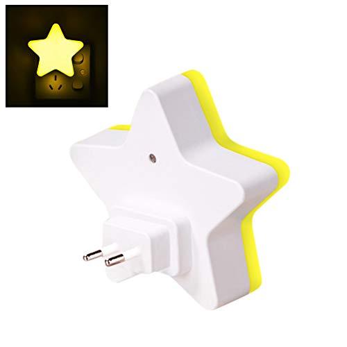 AimdonR Star LED Sortie de lumière de Nuit 3D La Nuit des Enfants Mignons Allume des décorations de Chambre de bébé
