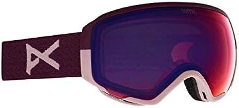 Anon W WM1 Skibril voor dames, met spare, paars, eenheidsmaat, kleur paars, perceive variabele violet, Perceive Su