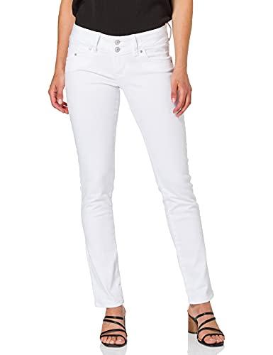 LTB Jeans Damen Molly Jeans, Weiß, 27W / 30L