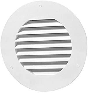 White Duraflo 641015-00 Dryer Vent Block