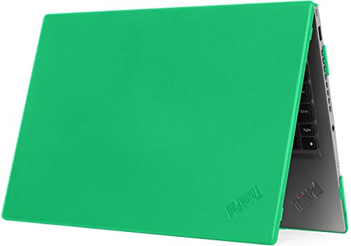 mCover Hard Shell Case for 14  Lenovo ThinkPad X1 Carbon (5th Gen & 6th Gen) Laptop (X1-Carbon-6G Green)