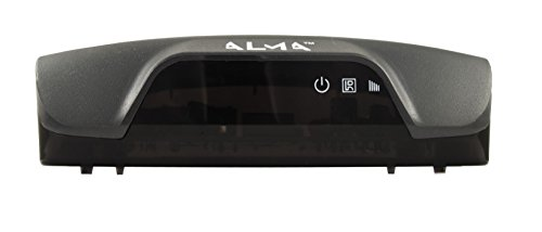 Alma THD 2750 Cable Alta Definición Total Negro TV Set-Top Boxes - Reproductor/sintonizador (Cable, DVB-T,DVB-T2, AVI,H.264,MKV,MOV,MP4,MPEG4, MP3, JPG, Negro)