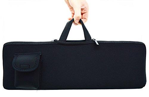 Orchidtent Neopren Tastaturhülle - Portable Protection Tragetasche Tasche mit Maus Tasche für Logitech MK270 Wireless Tastatur und Maus Combo für Windows QWERTY