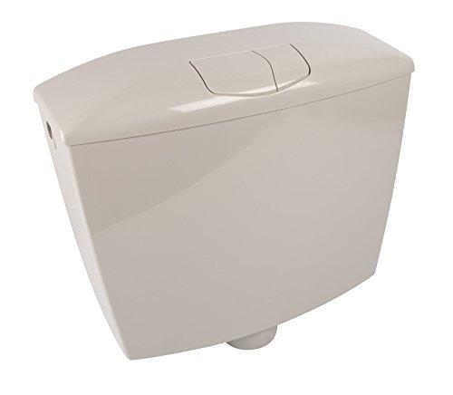 Spülkasten Karat | Kunststoff | 2 Mengen Spültechnik | 3,5 Liter oder 6 - 9 Liter | Tiefspülkasten | Manhattan