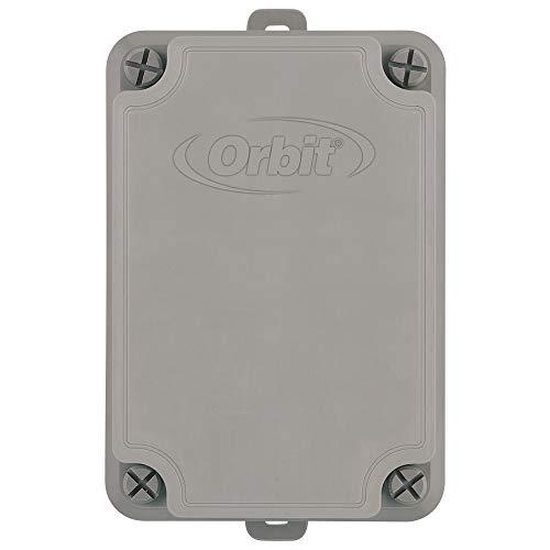 AQUA CONTROL B57009 B57009-Relé de Arranque Bomba. Rele Desde 0,5 8 HP. Compatible con Todos los programadores de riego de 24 V. Armario de plástico Resistente a la Intemperie, Gris, 10x14x20 cm