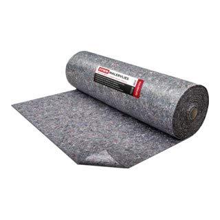 STIER Malervlies, Gewicht 200 g/m², Länge 50 m, Abdeckvlies, Schutzvlies, Premium Oberflächenschutz Vlies grau, PE Anti Rutsch Beschichtung