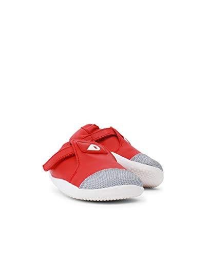 Bobux Xplorer Origin, Zapatillas Unisex Niños, Rojo Rojo Rojo, 18 EU