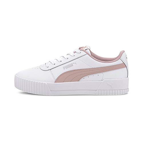 PUMA Damen Carina L JR Sneaker, White Peachskin, 37 EU