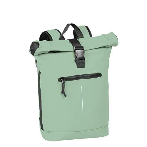 New Rebels Mart Roll-Top Backpack Mint Blue Large II | Rucksack