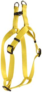 OmniPet Adjustable Step in Pet Harness Large, Yellow