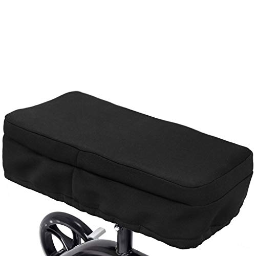 GEZICHTA Knee Walker Pad Cover Platform Pad Seat - Thick Soft Memory Foam Cushions Replacement Knee Pad Fits Knee Cycle Knee Scooters