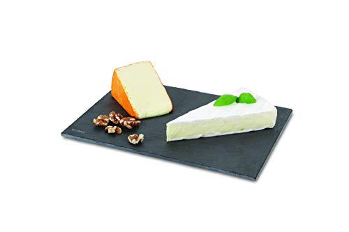 BOSKA 359017 Planche à Fromage, Ardoise, Gris, 28 x 20 x 5 cm