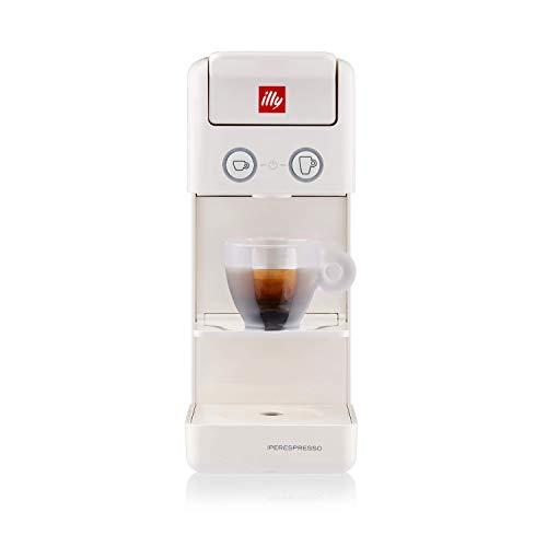 illy 60411 lly Caffè Iperespresso Y3.3 Kaffeemaschine für Kapseln, Weiß, Kunststoff
